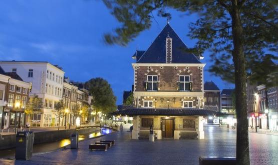 De Waag Leeuwarden, te zien in Leeuwarden