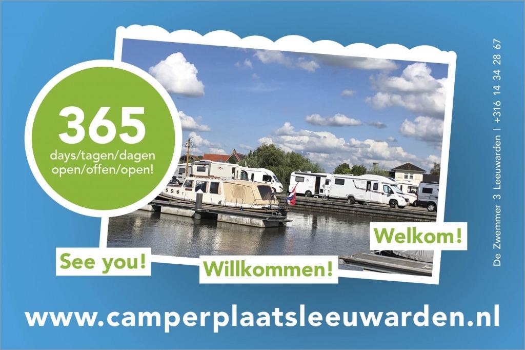 Camperplaats Leeuwarden hele jaar open