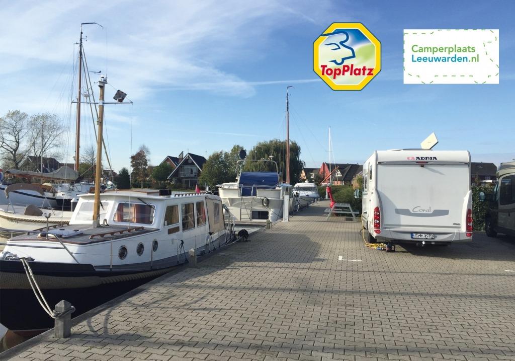 Topplatz Camperplaats Leeuwarden