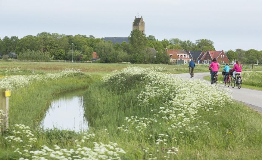 Natuurmonumenten, fietsroute Camperplaats Leeuwarden