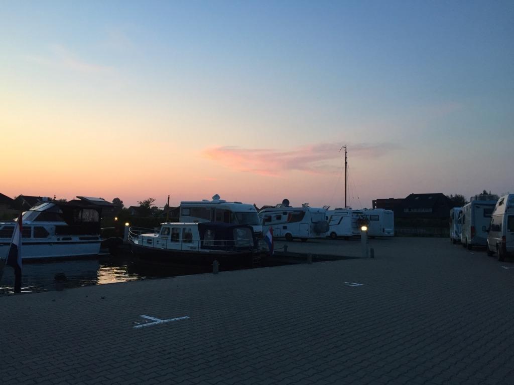 Camperplaats Leeuwarden start en finish Fiets11stedentocht