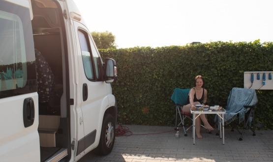 Met de camper door Friesland