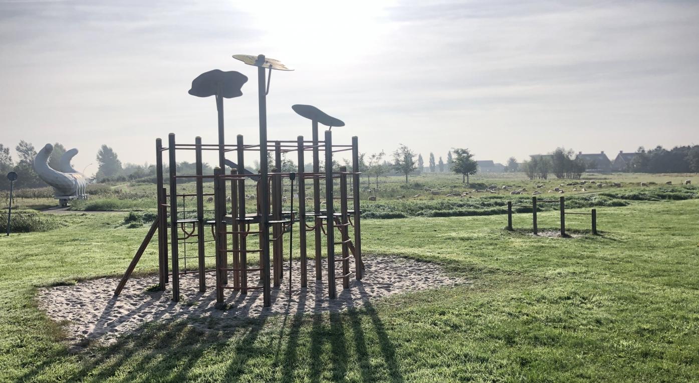 Speeltuin-spielplatz- kidsclub- Camperplaats Leeuwarden
