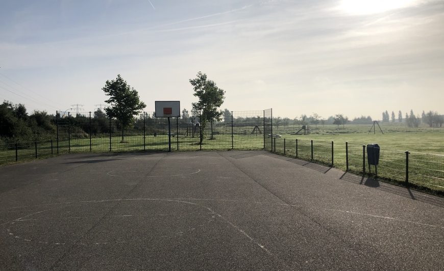 Voetbalveld-Camperplaats Leeuwarden
