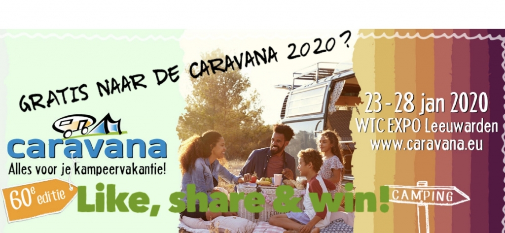 Caravana-winactie-Camperplaats Leeuwarden