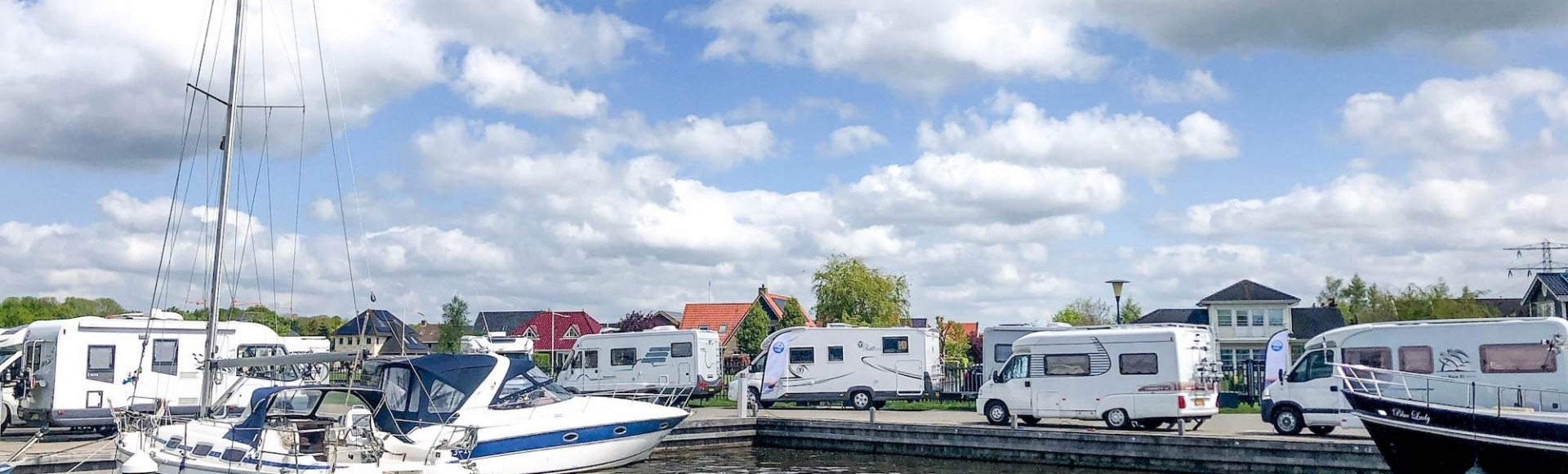 NKC bij Camperplaats Leeuwarden