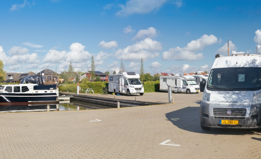 Camperplaats Leeuwarden gaat verbouwen