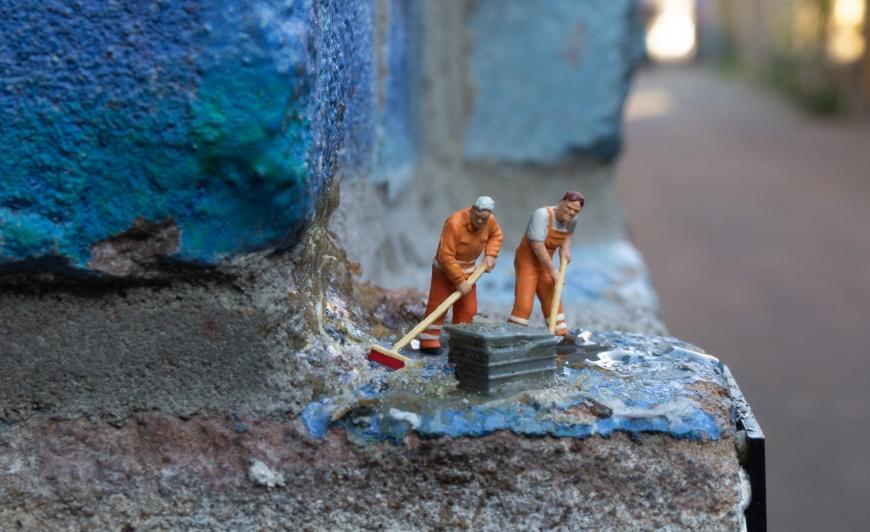 Miniature People Leeuwarden - Camperplaats Leeuwarden